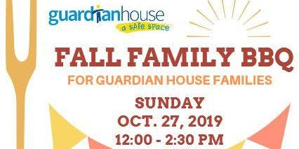 Fall Family BBQ for Guardian House Families!