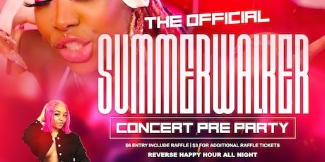 The Summer Walker Experience tickets