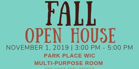 WIC Fall Open House