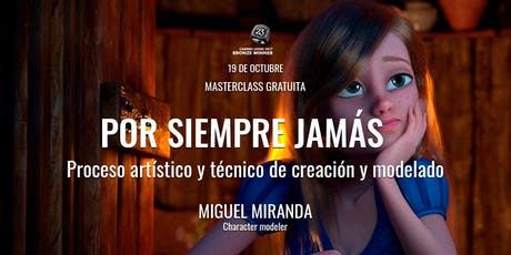 """Masterclass Miguel Miranda """"Por Siempre Jamás"""" entradas"""