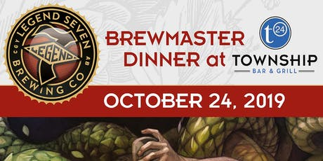 Legend 7 Beer Dinner at Township Bar & Grill tickets