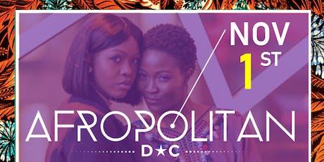 AfropolitanDC (November) - Largest Cultural Mixer For Diaspora Professionals tickets