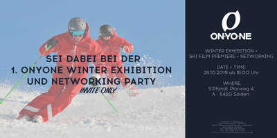 INVITATION ONLY: ONYONE Pre-Launch Winter Exhibition + NETWORKING