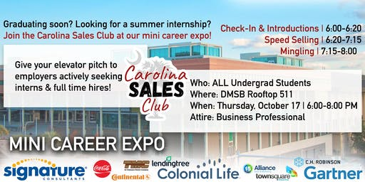 Sales Club Mini Career Expo