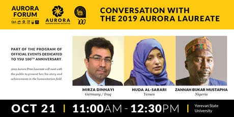 Aurora Dialogues: Conversation with the 2019 Aurora Prize Laureate tickets