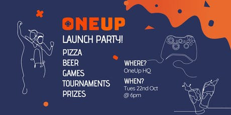 OneUp launch party & networking event -Food, beer and an epic Photo-booth! tickets