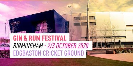 The Gin & Rum Festival - Birmingham - 2020 tickets