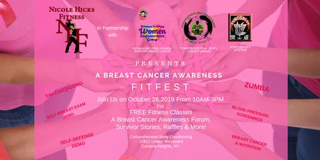 Nicole Hicks Fitness Breast Cancer Awareness Fit Fest tickets