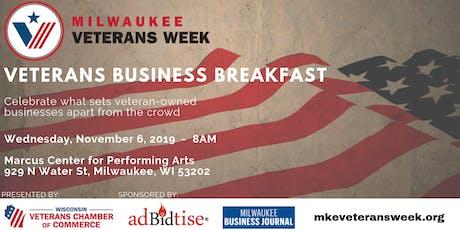 Veterans Business Breakfast tickets