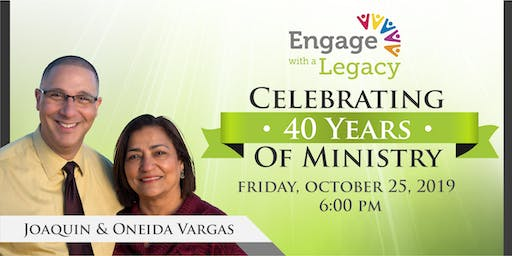 Engage with a Legacy: 40 years of Ministry