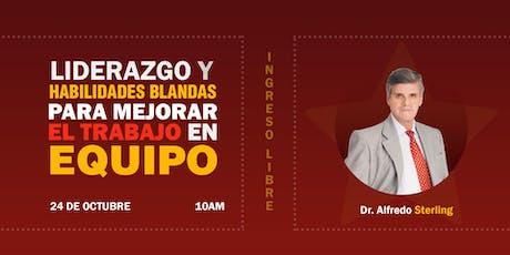 LIDERAZGO Y HABILIDADES BLANDAS PARA MEJORAR EL TRABAJO EN EQUIPO tickets