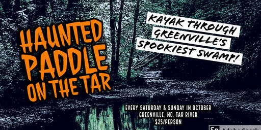 Haunted Paddle on the Tar River