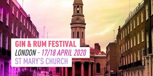 The Gin & Rum Festival - London -2020