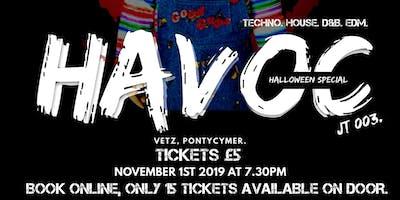 JT 003. Tekartel Presents: HAVOC - Haloween Bash. VETZ. Nov 1st.