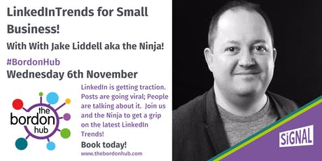 LinkedIn Trends for Small Business with Jake Liddle tickets