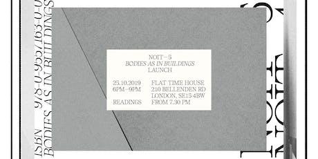 NOIT 5 Launch tickets