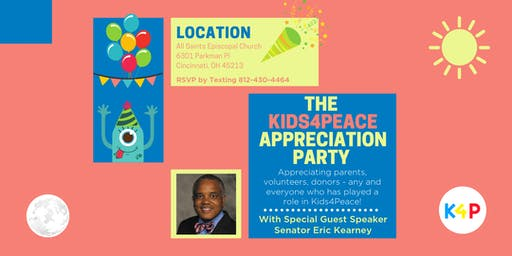 The Kids4Peace Appreciation Party