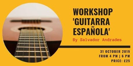 Spanish Guitar Workshop tickets