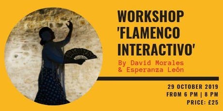 """Interactive Flamenco"" Workshop tickets"