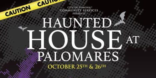Free Haunted House at Palomares Park in Pomona (2019)