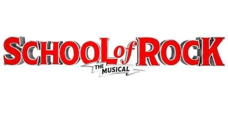 School of Rock November 13 @ 7:30pm tickets