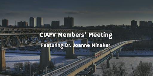 CIAFV March Members' Meeting
