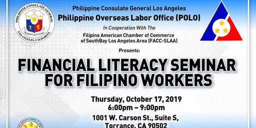 Financial Literacy Seminar for Filipino Workers