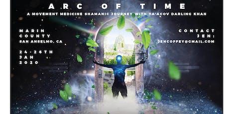Arc of Time: A Shamanic Movement Medicine Journey with Ya'Acov Darling Khan tickets