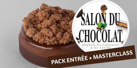 Masterclass au Salon du Chocolat avec Kevin Lacote billets