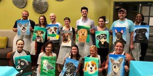 Paint Your Pet Sip And Paint Come paint a portrait of your pet