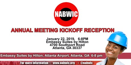 2020 NABWIC Annual Meeting Reception tickets
