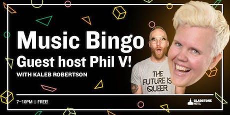 Music Bingo feat. Guest Host Phil V. tickets
