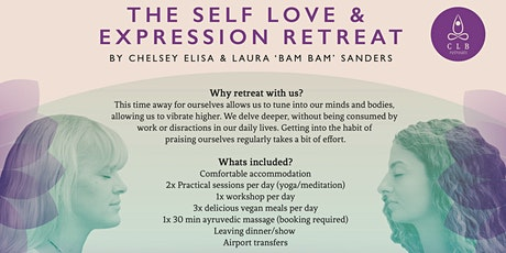 CLB Retreats: Self Love & Creative Expression tickets