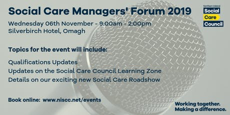 Social Care Managers' Forum - Silverbirch Hotel Omagh tickets