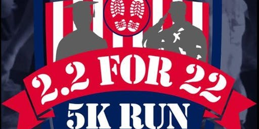 Veterans Day 2.2 for 22 and 5 K Run @ LPC