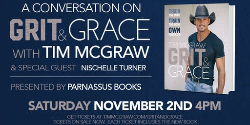 Author event with Tim McGraw
