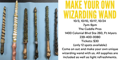 Make Your Own Wizarding Wand