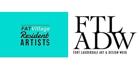 FATVillage Resident Artists Open Studio Night During FTLADW tickets