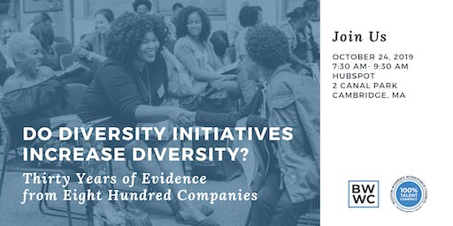 100% Talent Compact Briefing: Do Diversity Initiatives Increase Diversity?