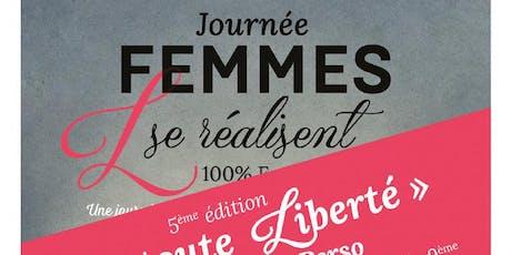 FORUM «FEMMES, L SE RÉALISENT»  2019 billets