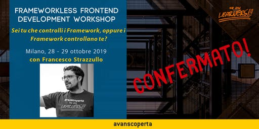 Frameworkless Frontend Development Workshop 2019