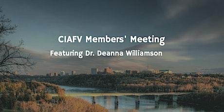 CIAFV April Members' Meeting tickets