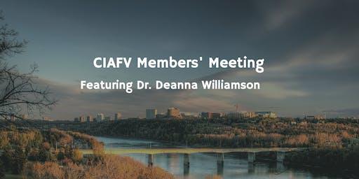 CIAFV April Members' Meeting