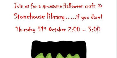Stonehouse Library Free Halloween Craft Event