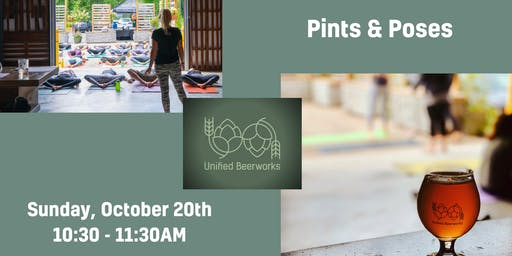 Pints & Poses - Yoga & Beer @ Unified Beerworks
