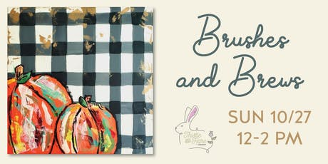 Brushes and Brews tickets