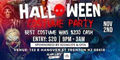 SlumLife ENT X OTA Halloween Costume Party