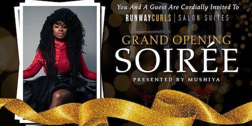 Runway Curls Salon Suites Grand Opening Sponsorship