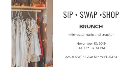 SIP AND SWAP INTO FALL  tickets