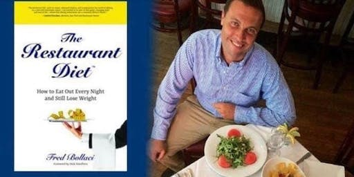 Venu Magazine & Author Fred Bollaci CT Book 2 Restaurant Diet Launch Party